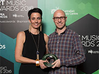 Claire Edwardes and Damien Ricketson of Ensemble Offspring - Excellence by and Organisation