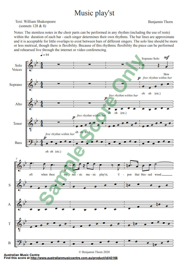 music example from Music Play'st, first page